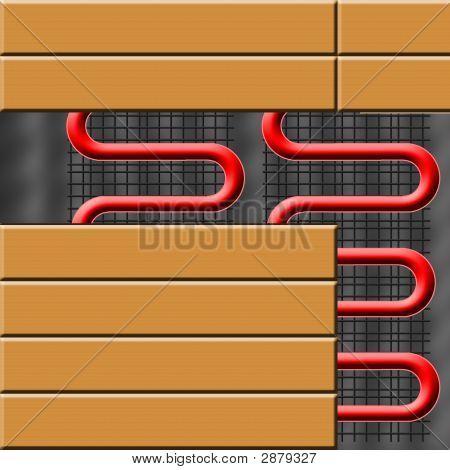 Heating System Under Laminate Flooring