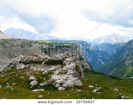 Alps of South Tirol