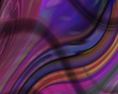 Optical Art Waves 04 Deep Color Rainbow poster