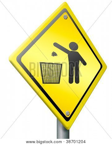 tossing waste in a trash can concept for garbage bin disposal clean cleaning up dustbin person silhouette litter pollution