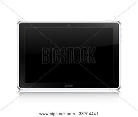 Tablet Computer Concept. Vector Illustration
