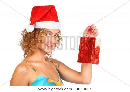 Shopping Christmas Woman