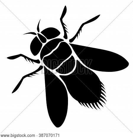 Fly Vector Icon. Fly Sign On White Background. Fly Icon For Web.