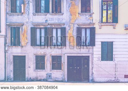 Italian Windows Are New And Old Horizons Of Beauty, Functionality And Performance In Faded Color Eff