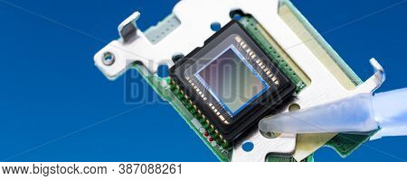 Image / imaging sensor is a sensor that detects and conveys the information that constitutes an image. CCD or CMOS technology