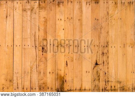 Background And Texture Of Old Pine Wood Decorative Surface