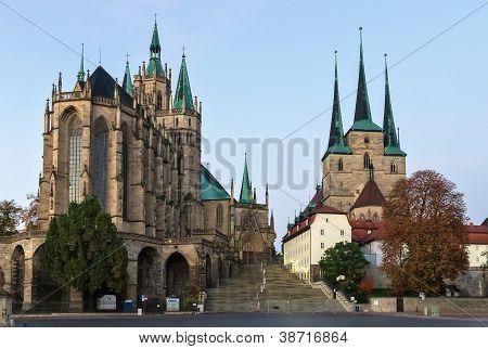 Erfurter Dom und Severikirche, Deutschland