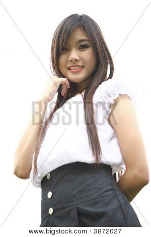 Beauty Thai Isolated