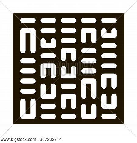 Paternity Genetics Test Glyph Icon Vector. Paternity Genetics Test Sign. Isolated Symbol Illustratio