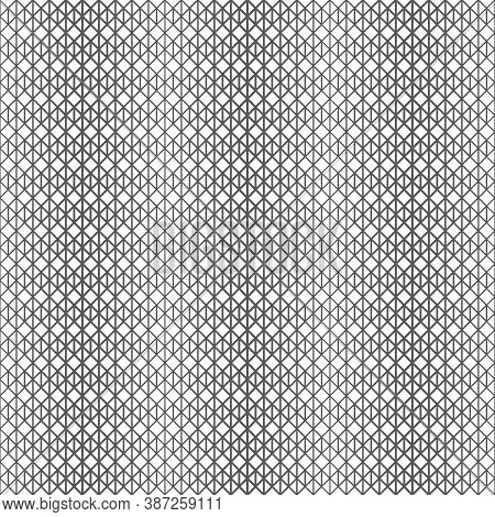 Vector Seamless Pattern. Infinitely Repeating Elegant Modern Geometrical Texture. Hexagonal Linear G