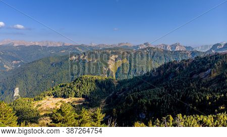 National Park Located On The Montenegro And Albania Nad Kosovo Borders. Prokletie Are A Beautifal Mo