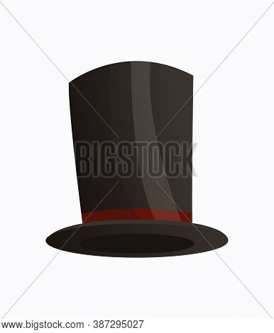 Headwear. Clothes Accessories. Fashion Headwear For Gentlemen In Vintage Style, Old Classic Cylinder