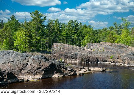 St. Louis River In Jay Cooke State Park, Minnesota