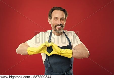 My Heart Belongs To Cleanliness. On Guard Of Cleanliness. Cleaning Service And Household Duty. Lot O