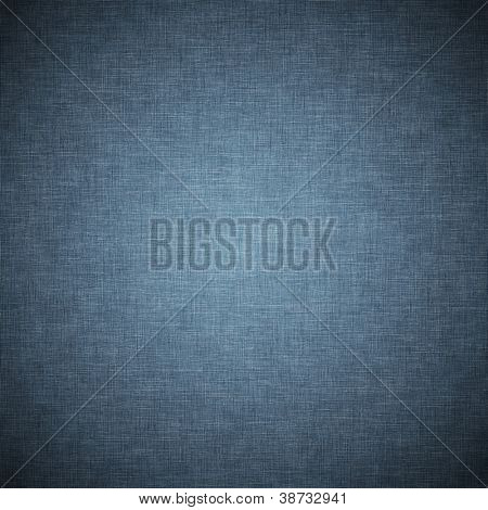 Fundo de tecido vintage azul escuro ou textura