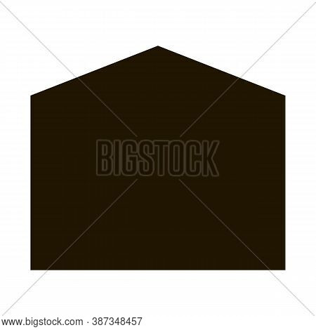 Bed Canopy Awning Glyph Icon Vector. Bed Canopy Awning Sign. Isolated Symbol Illustration