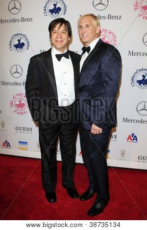 LOS ANGELES - OCT 20:  Alan Siegel, David Meister arrives at  the 26th Carousel Of Hope Ball at Beverly Hilton Hotel on October 20, 2012 in Beverly Hills, CA