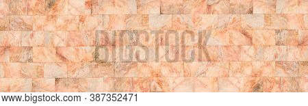 Natural Brown Marble Stone Texture For Background Or Luxurious Tiles Floor And Wallpaper Decorative