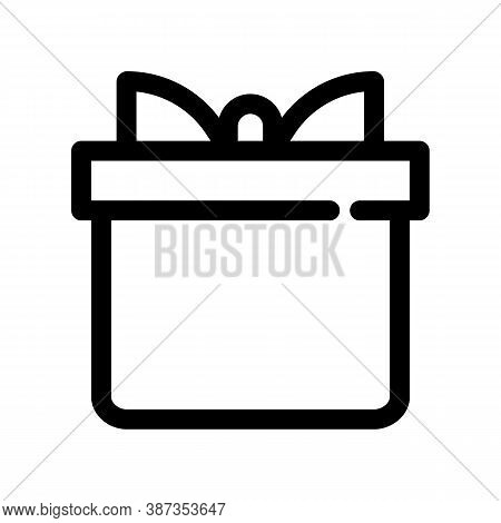 Box Outline Icon. The Item From Set Dedicated Marketing, As Well As Related Goods And Services. Inte