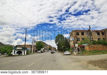 Caucasus, Armenia 10 May 2013: The Village In The Mountains Of The Caucasus, Armenia