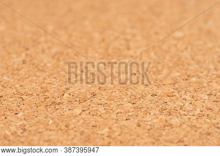 Cork Board Background Texture - Insert Your Own Message Or Bulletin With Thumbtacks. Selective Focus