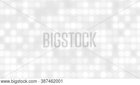 Dot White Gray Pattern Gradient Texture Background. Abstract  Technology Big Data Digital Background