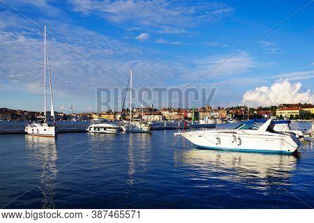 Rovinj Marina - Harbour in Istria, Croatia