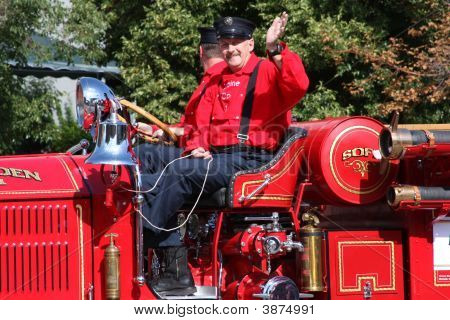 Old Time Fire Engine