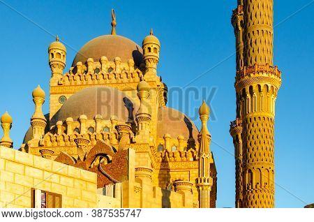 Al Mustafa Mosque In Sharm El Sheikh In The Old City.