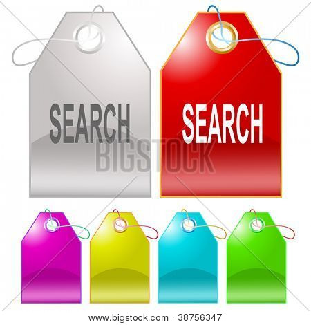 Search. Raster tags. Vector version is in my portfolio.