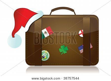 Christmas Travel Season Concept