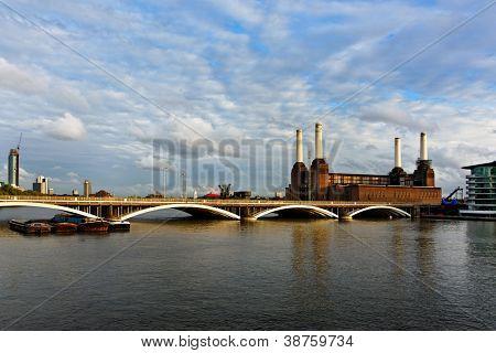 Battersea power station in London, England, UK