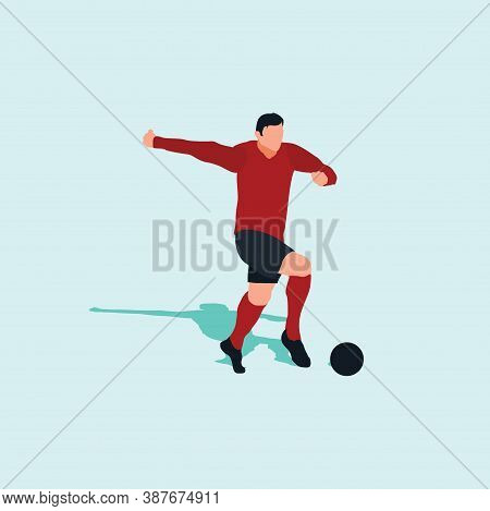 Dribble With Pace In Soccer - Shot, Dribble, Celebration And Move In Soccer