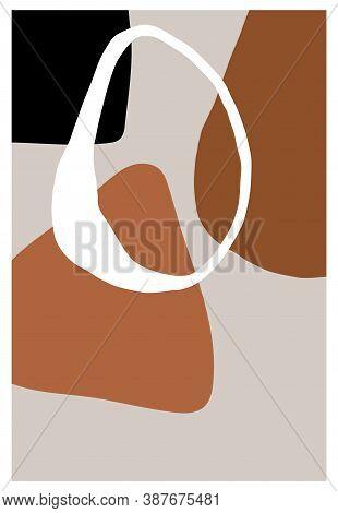 Modern Art Design. Abstract Poster Design. Geometric. Minimalist Artwork. Modern Decoration For Web,