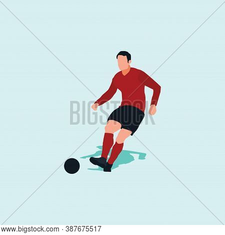 Right Footed Passing - Shot, Dribble, Celebration And Move In Soccer