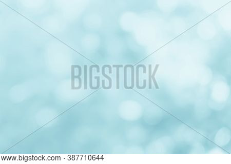 Natural Spring Blurred Blue Sea Background. Create Light Soft Blurred Colors Bright Sunshine. Blue B