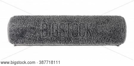 Gray Carpet Texture Background, Nylon Carpeting Pattern