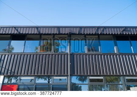 Low Angle View Of An Office Building Exterior