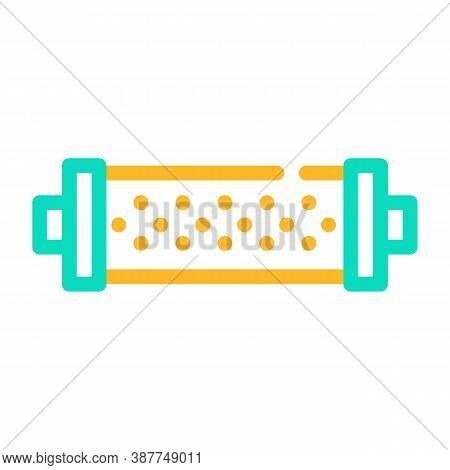 Water Strainer Color Icon Vector Flat Illustration