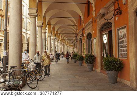 View Of Via Emilia Centro In Modena, Italy 8
