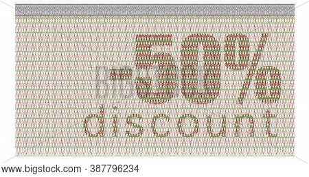 Discount Coupon -50% With The Guilloche Protection