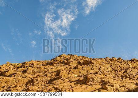 Dry Mud Rocky Hill, La Rioja, Argentina