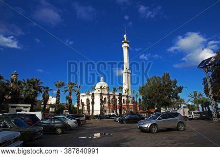 Tripoli, Lebanon - 02 Jan 2018. The Mosque In Tripoli, Lebanon