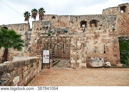Tripoli, Lebanon - 02 Jan 2018. The Citadel In Center Of Tripoli, Lebanon