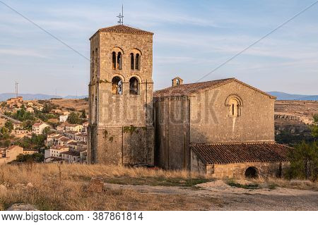 Iglesia Del Salvador, 12th Century Romanesque Church In The Medieval Town Of Sepúlveda (segovia, Spa