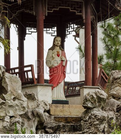Suzhou China February 11 2012 Our Lady Of Seven Sorrows Catholic Church
