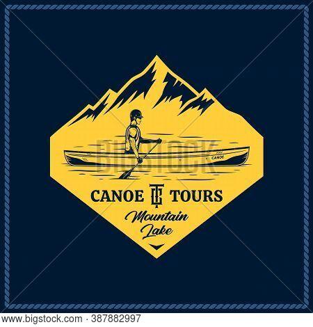 Vector Canoe Tours Logo
