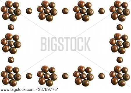 White Background With Dark Red Ripe Tomatoes. Food, Commerce And Publicity Concept
