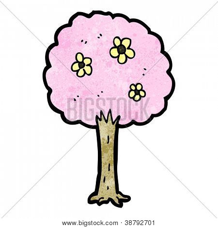Vector Y Foto árbol Bonito Prueba Gratis Bigstock