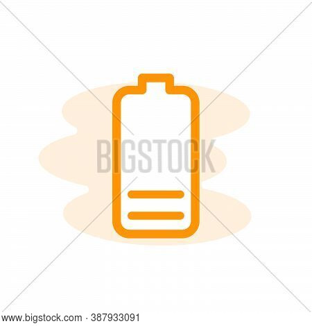 Illustration Vector Graphic Of Battery Icon Template